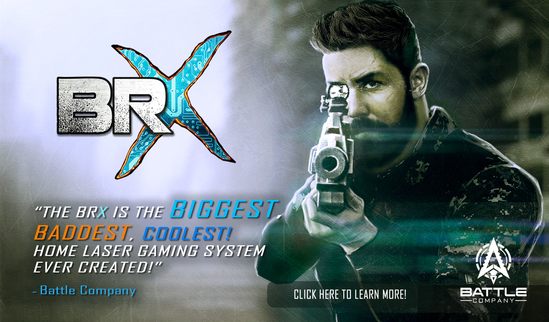 The BRX – THE BEST HOME LASER TAG GUN, EVER!