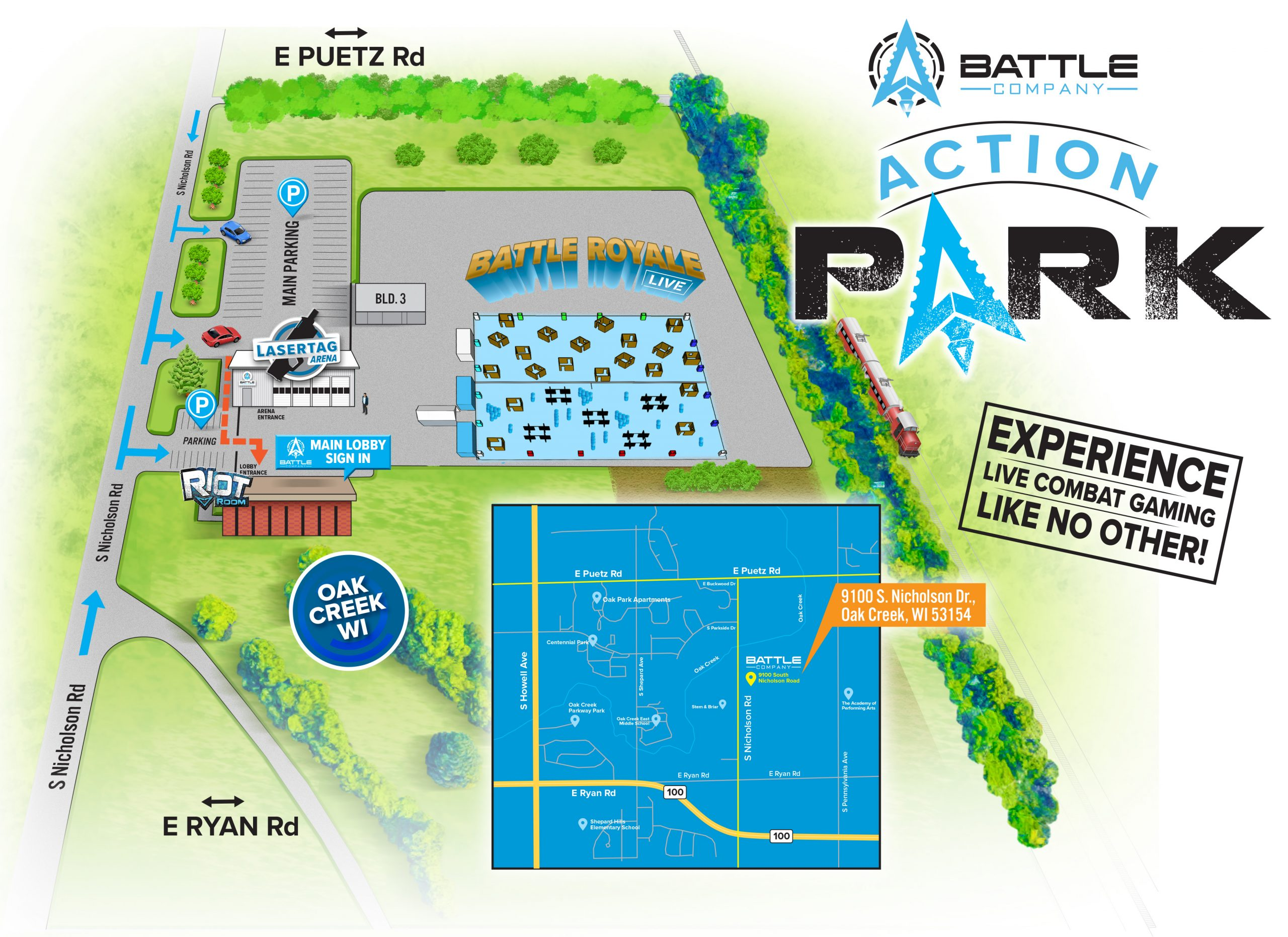 battle-company-action-park-map